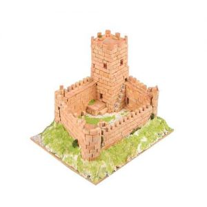 Maqueta Kit de cerámica Castillo Medieval, Color marrón - Edad Media